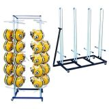 Football Rack Package includes Shoulder Pad Cart and Helmet Storage Cart