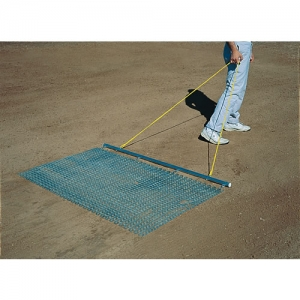 Infield Drag Mat with Steel Drag Bar