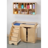 Jonti-Craft Changing Table - with Stairs Combo - Left