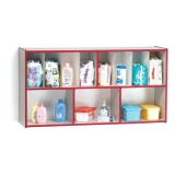 Rainbow Accents Diaper Organizer - Red