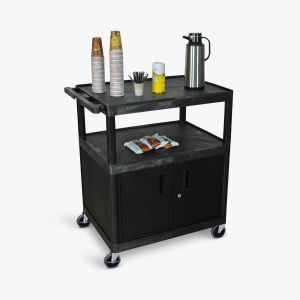 Large Coffee Cart  Cabinet
