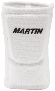 Volleyball Knee Pad, White, Large