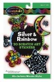 Silver & Rainbow Stickers