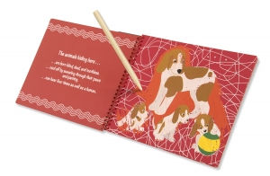 Animal Families Hidden-Picture Pad
