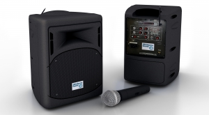 40 Watt Wireless PA System.