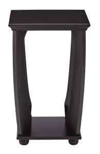 Mila Square Accent Table in Brushed