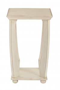 Mila Square Accent Table in Antique
