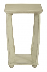 Mila Square Accent Table in Antiique