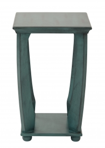 Mila Square Accent Table in Caribbean