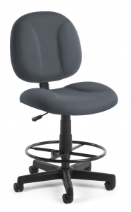 SUPERCHAIR WITH DRAFTING KIT  GRAY