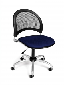 POSTURE TASK CHAIR W/ARMS + DK - GRAY