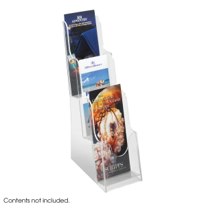 Acrylic Pamphlet Display, 3 Pocket
