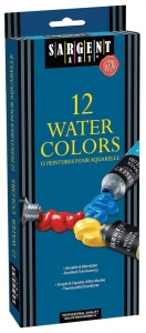 12ct Tube Watercolor Aquarelle Set 144ml (12 X 12); 4.9oz.