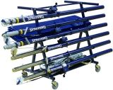Spalding Volleyball Equipment Carrier for Uprights Nets Padding and Platform
