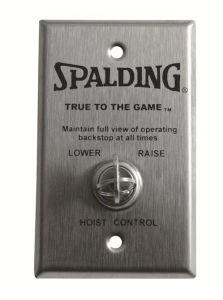 Spalding Basketball Deluxe Key Switch for Electric Winch