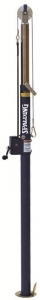 Spalding Volleyball Elite Steel Winch End Upright with Antennae Package