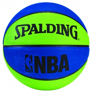 Spalding NBA Mini Rubber Basketball -