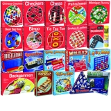 Deluxe Board Game Set, Set of 21