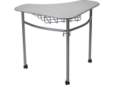 "Adjustable Collaboration Table, Triangle, 28""x36""x20"""