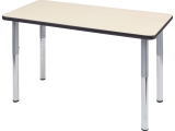 "Rectangle Activity Table, 42""X60"", Adjustable Height"
